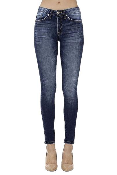 Amazon.com: KanCan KC7095 - Pantalones vaqueros para mujer ...