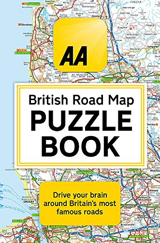 The AA British Road Map Puzzle Book (Aa Road Map)