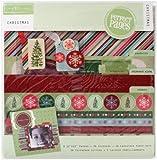 Colorbok Christmas 12x12 Scrapbook Page Kit
