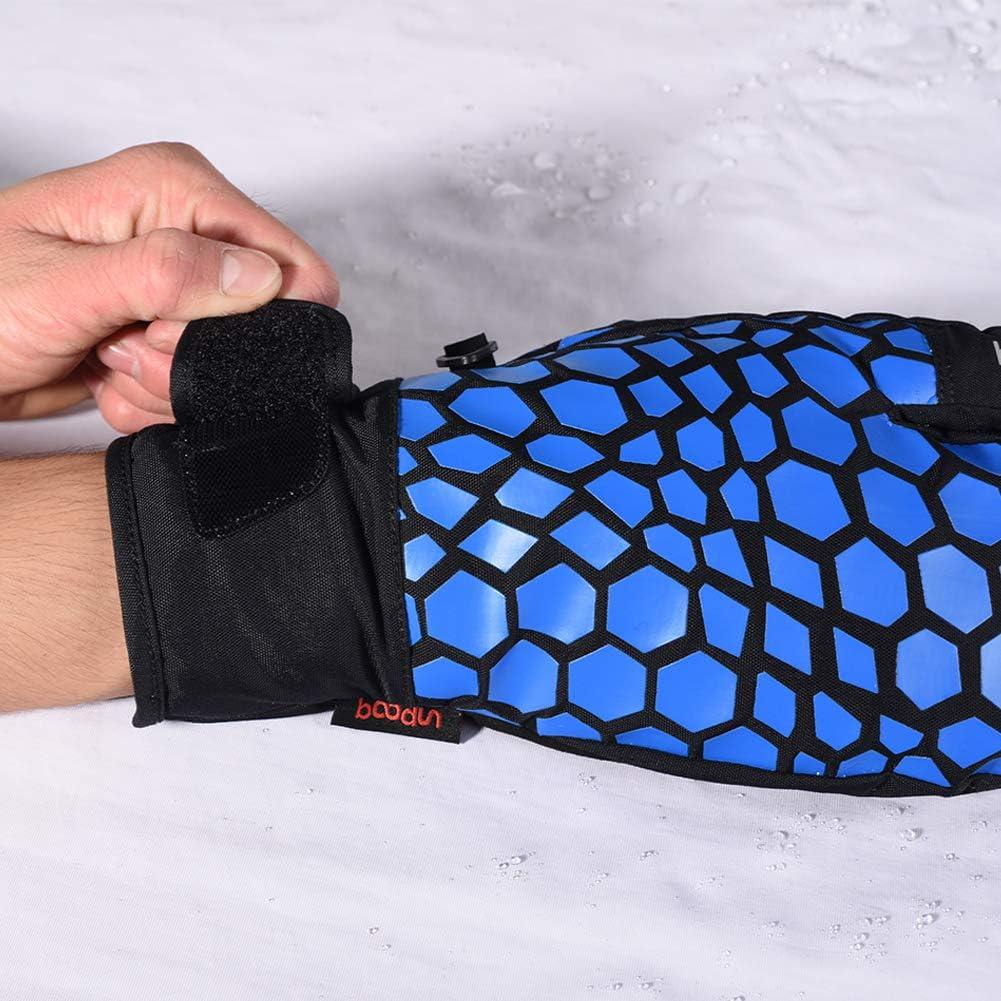 Touchscreen Waterproof Ski Mittens 3 Finger Warm Gloves Snow Snowboard Men Women