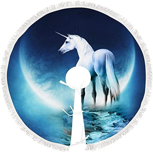 Unicorn in Water Photo Plate