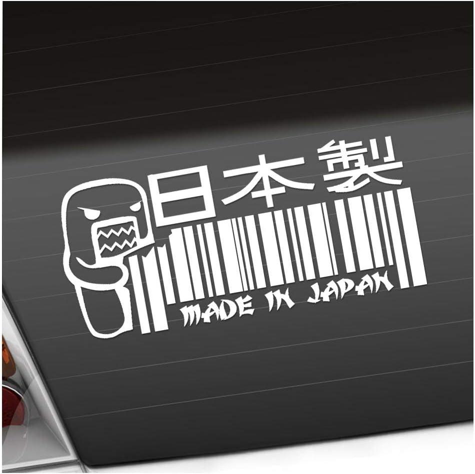 Kiwistar Made In Japan Domo 20 X 9 Cm In 15 Farben Neon Chrom Sticker Aufkleber Auto