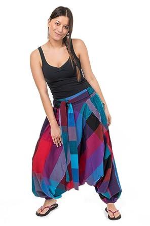 d8b237c02ae1 FANTAZIA Sarouel Femme Ceinture Elastique Bachata -  Amazon.fr  Vêtements  et accessoires