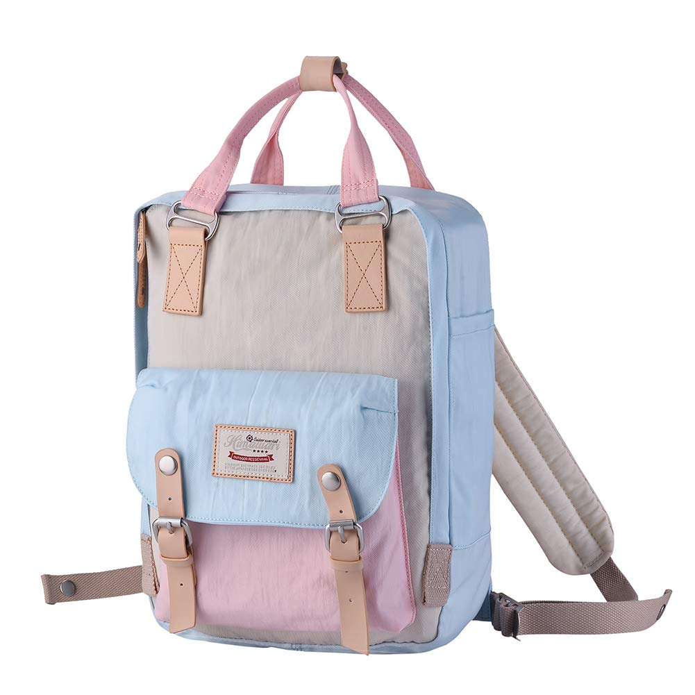"""ویکالا · خرید  اصل اورجینال · خرید از آمازون · Himawari Backpack/Waterproof Backpack 14.9"""" College Vintage Travel Bag for Women,13inch Laptop for Student (HM-38#) wekala · ویکالا"""