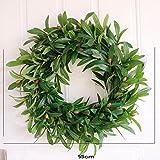Wedding Door Olive Wreath Summer Wreaths Front Door Wreaths Everyday Vintage Wreath,Greenery Year Round Wreath