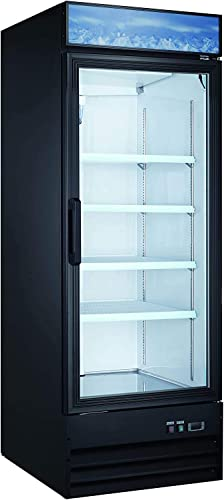 Large Capacity Upright Commercial Glass Door Display Cooler Refrigerator