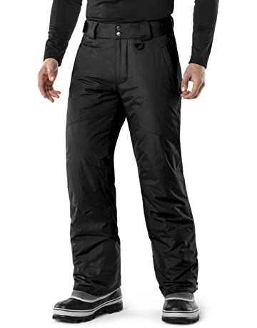 TSLA Men s Rip-Stop Snow Pants Windproof Ski Insulated Water-Repel Bottoms  YKB81  60402bb93