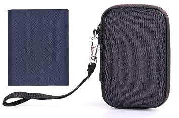 Kingwon - Funda rígida de Goma EVA para Samsung T5/T3/T1, portátil ...