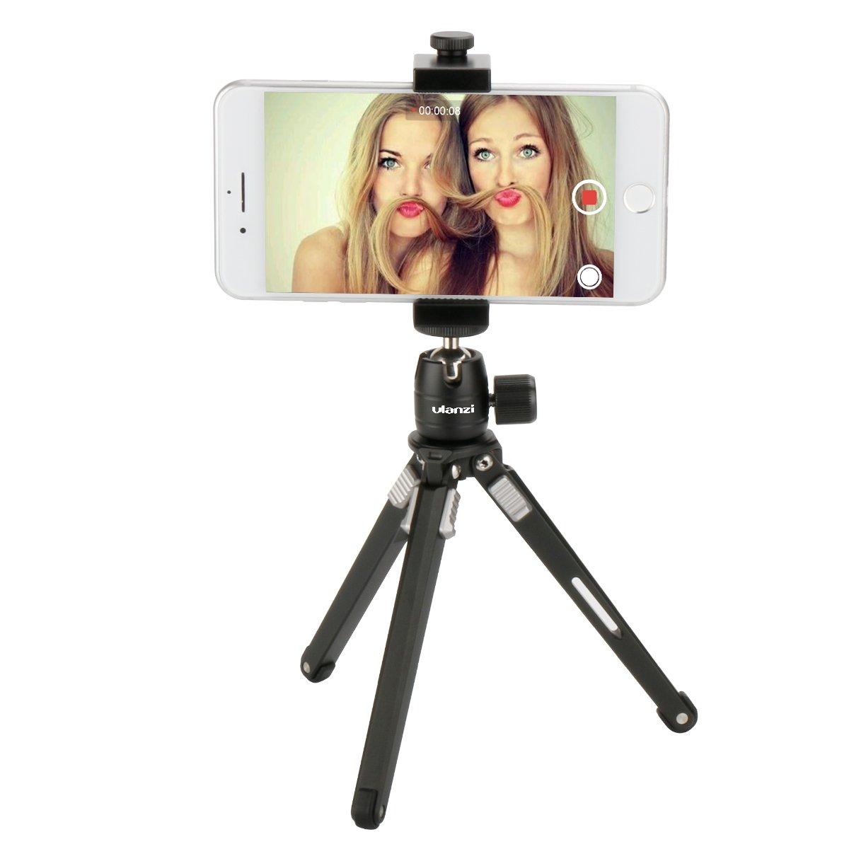 Nikon ULANZI u-30 mini Ball Head treppiede testa girevole di,360 con filettatura 1//10,2 cm 3//20,3 cm base di supporto per fotocamera DSLR come Canon Sony//videocamera//iPhone 8 7 Plus GoPro