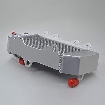 aluminum alloy radiator Yamaha YZ85 2002-2019 2003 2004 2005 with stopper stopper