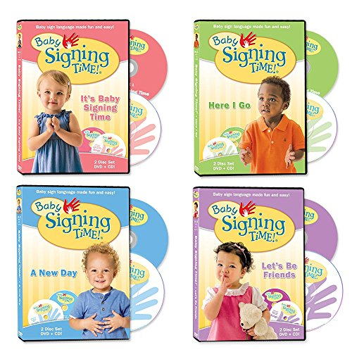 - Baby Signing Time DVD Collection