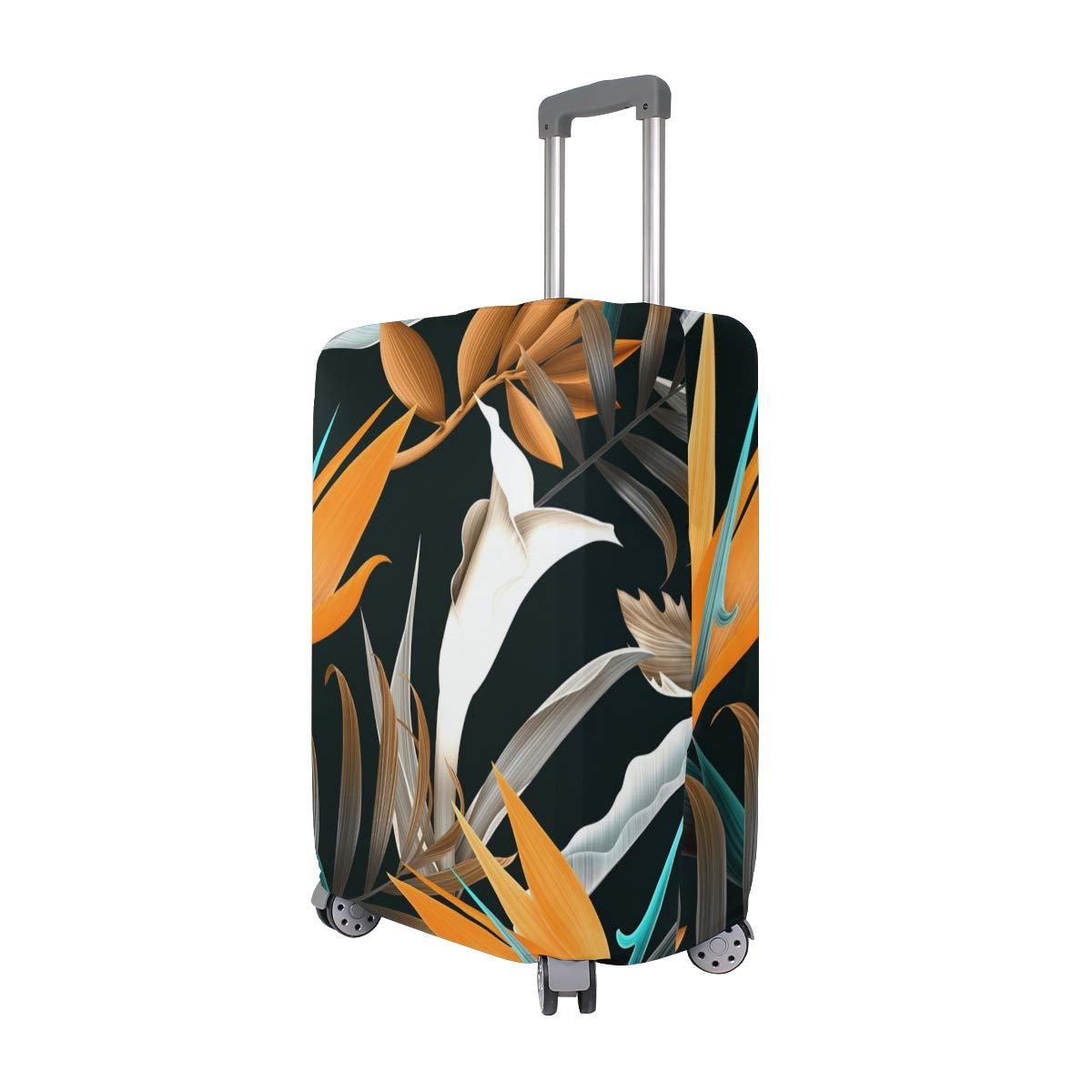 Tropical Plant Travel Luggage Protector Suitcase Cover 18-32 Inch for Travel Luggage Protective Suitcase Covers