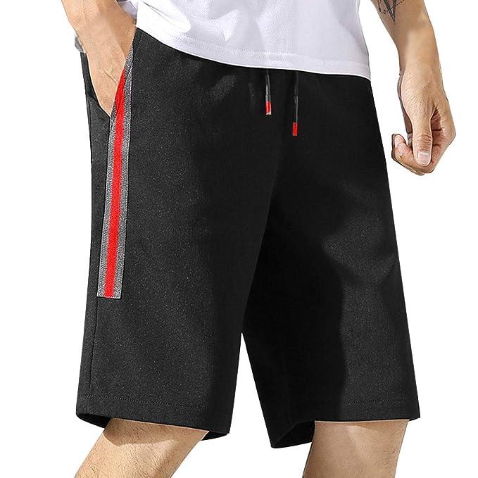 Pantalones Cortos para Hombre Verano Cargo Shorts Bermuda ...