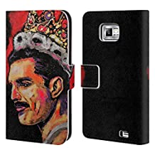 Official Rock Demarco Freddie Mercury Musicians Leather Book Wallet Case Cover For Samsung Galaxy Grand Prime