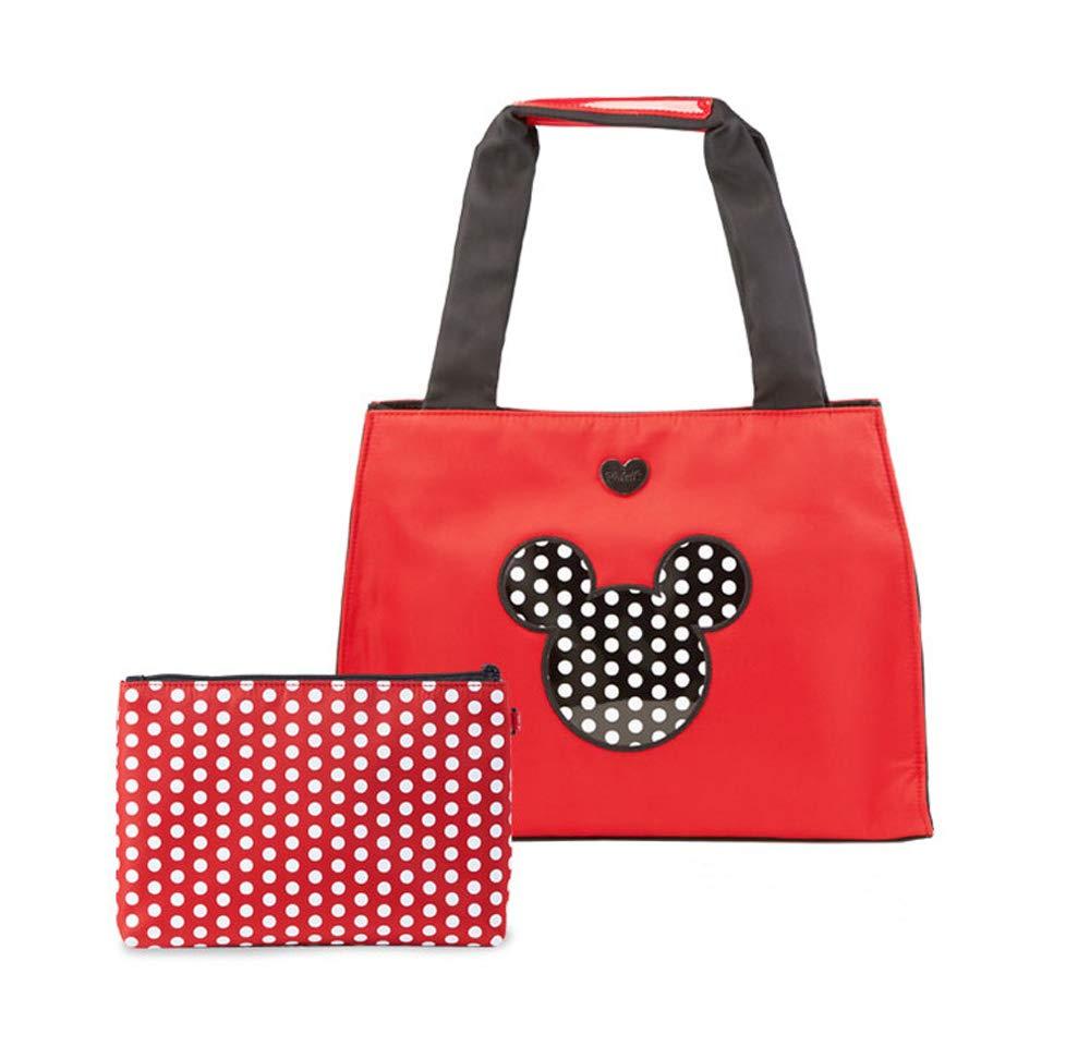 女性用 ディズニー ミッキーマウス Golf Bag トートバッグ Red 並行輸入   B07HFR7M4R