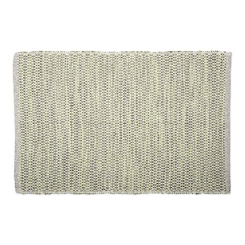 DII CAMZ11088 Contemporary Reversible Machine Washable Recycled Yarn Area Rug for Bedroom, Living Room, and Kitchen, 2 x 3', Diamond Artichoke