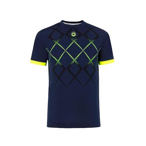 JHAYBER Camiseta Manga Corta Hombre Técnica Tenis Padel: Amazon.es ...