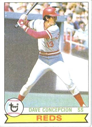 1979  DAVE CONCEPCION Topps Baseball Card # 450 CINCINNATI REDS