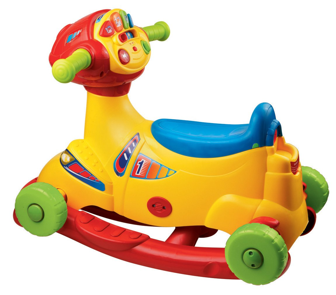 Amazon Com Vtech Sit To Race Smart Wheels Ride On Toys Games