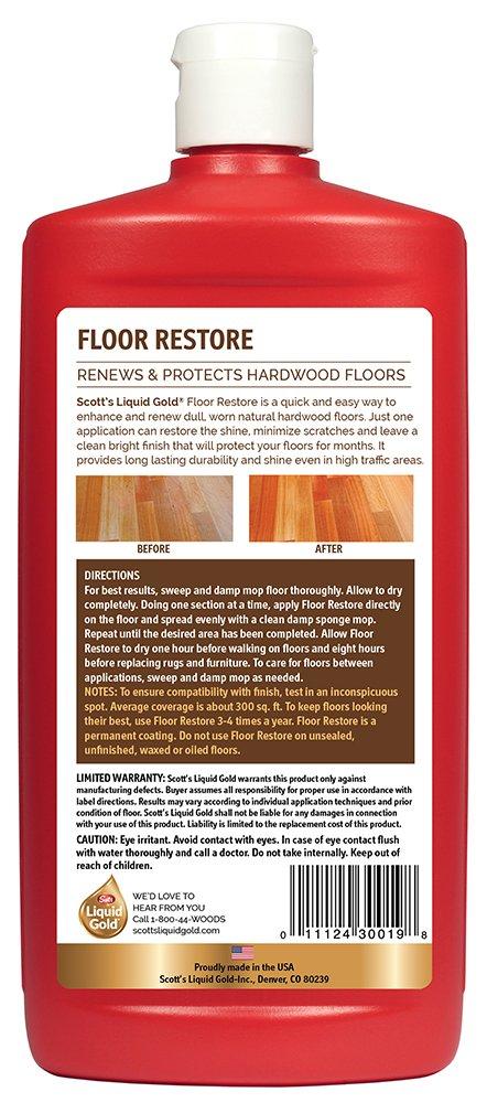 Scott's Liquid Gold Floor Restore- Renews & Protects Hardwood Floors by Scott's Liquid Gold (Image #2)