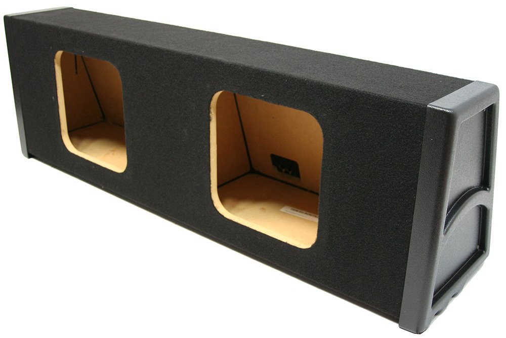Kicker Dual 10'' L3 L5 L7 Subwoofer Selaed Enclosure Sub Box 5/8'' MDF by American Sound Connection