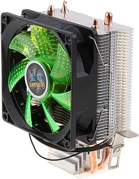 non-brand Ventilador Silencioso De La CPU Ventilador De 4 Pines ...