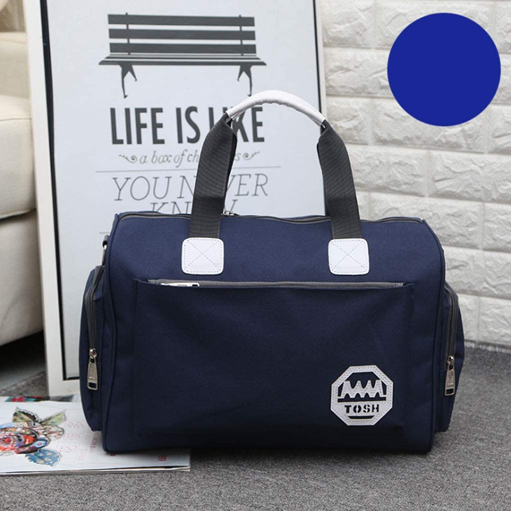 Clothes Bag Luggage Bag NJ Backpack- Large-Capacity Travel Bag Waterproof Travel Bag Color : Blue 7 Colors