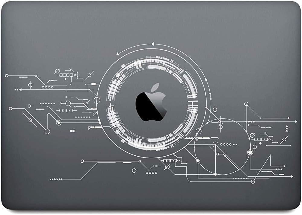 Macbook Decal Vinyl PVC Transparente Skin Sticker Cover Anti Scratch Skin,15 Inch//38X29X3.5 CM