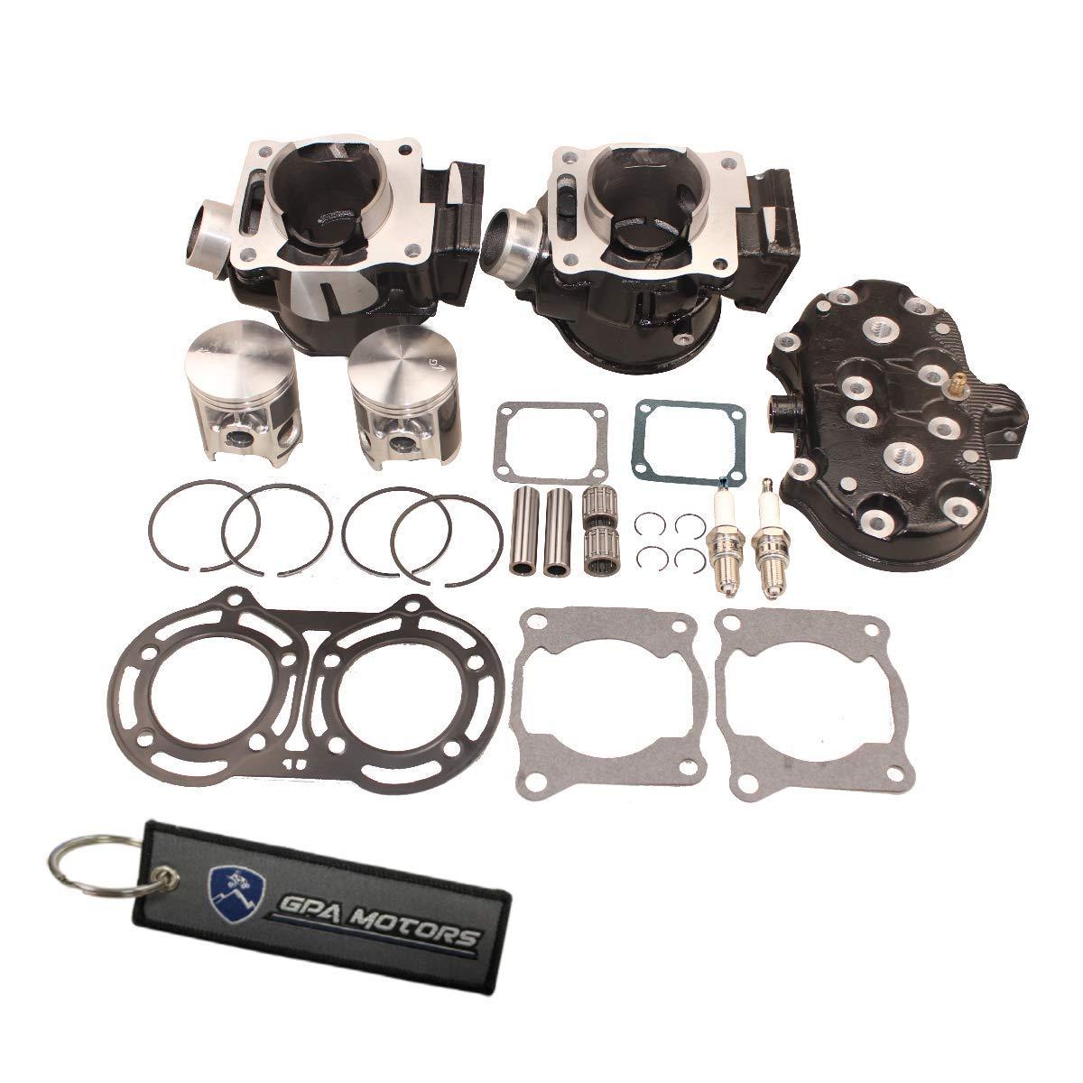 Gasket Rebuild Kits Complete Set for Banshee 350 YFZ350 1987 1999 2000 2001 2002 2003 2004 2005 2006