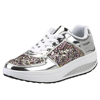 sports shoes 752e9 c0f95 VICGREY 🍒Scarpe Donna Eleganti,Donna Scarpe da Ginnastica ...