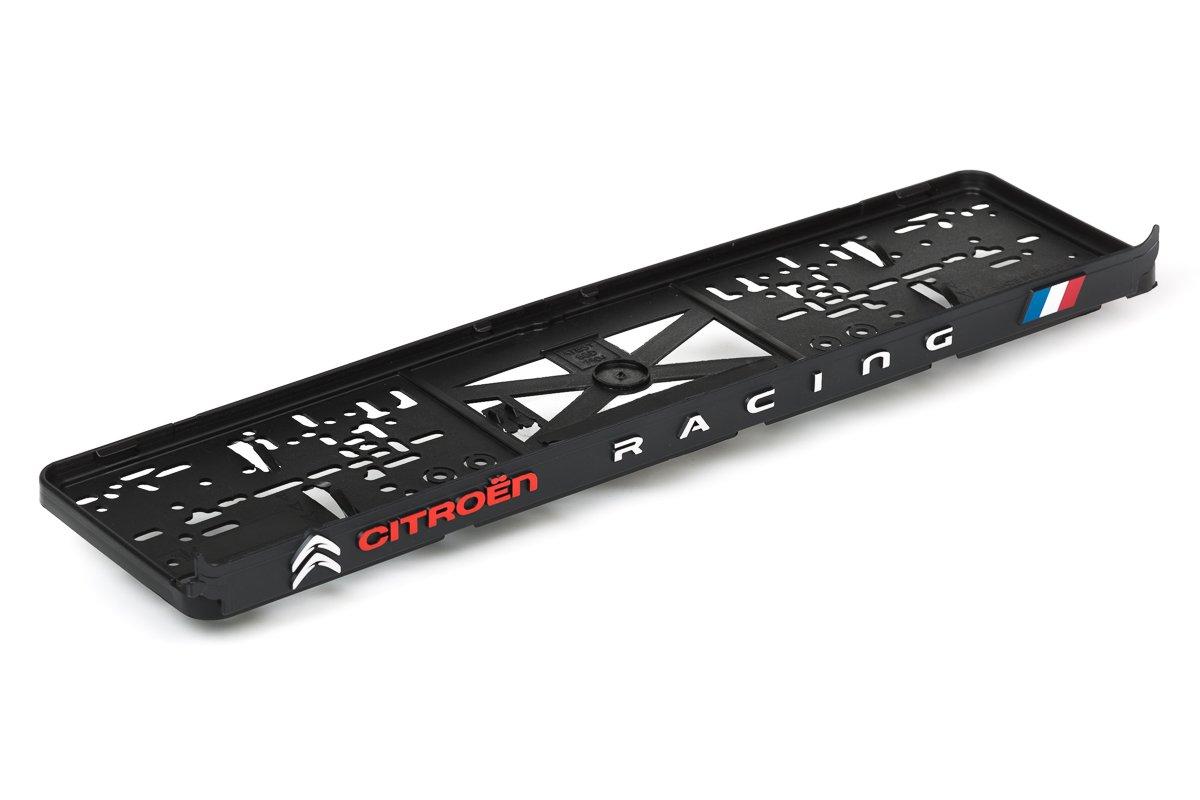 westcar Citroen Racing 3d efecto licencia Matr/ícula Soporte para matr/ícula