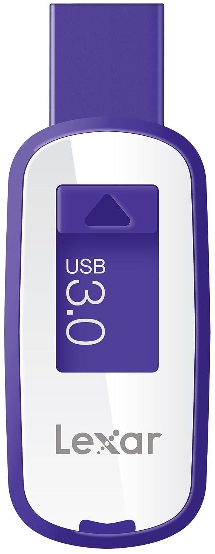 Lexar® Jump Drive® S25 64GB USB 3.0 High Speed Flash Pen Drive with Key Ring (Purple)