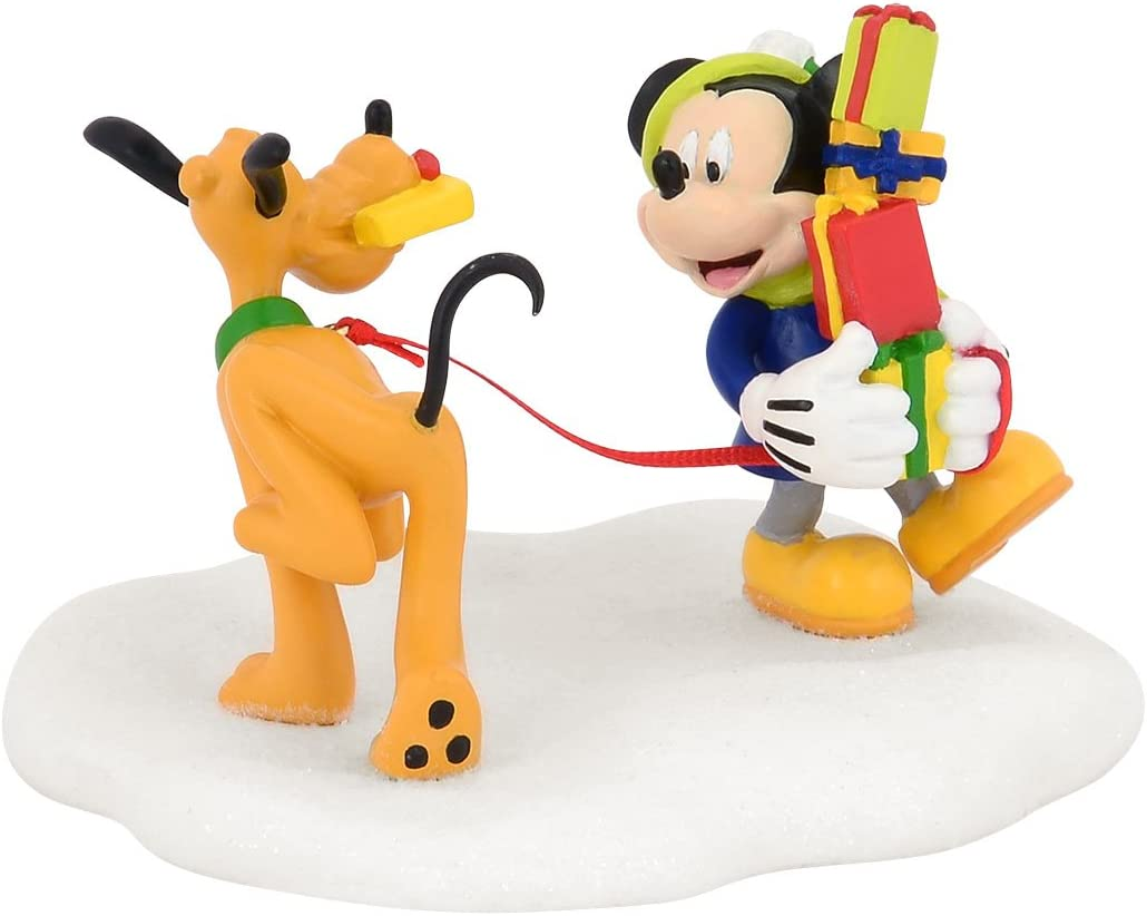Department 56 Disney Village Mickey s Tangled Tango Accessory Figurine, 3 inch