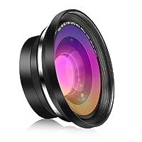 RegeMoudal HD Wide Angle + Obiettivo Macro Lens,37MM 0.39X,Wide Angle Conversione Lens Per RegeMoudal Digital Video Camcorder