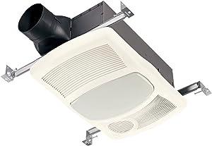Broan 765HL Ventilation Fan w/Directionally-Adjustable Heater & Light (100W Incandescent Lighting)