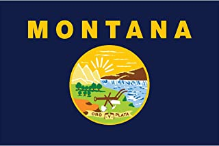 product image for Eder Flag - Endura-Nylon Montana State Flag - Indoor & Outdoor - Proudly Made in The USA - Durable - Fade-Resistant - Quality Craftsmanship (3X5 Foot)