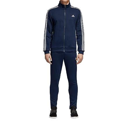 adidas Relax – Chándal Hombre, Hombre, DN8522, Collegiate Navy, Blanc, FR