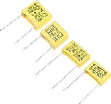 Polypropylene Capacitors  Assortment Kit DIP 275VAC X2 0.022uF 0.047uF 10 Pcs