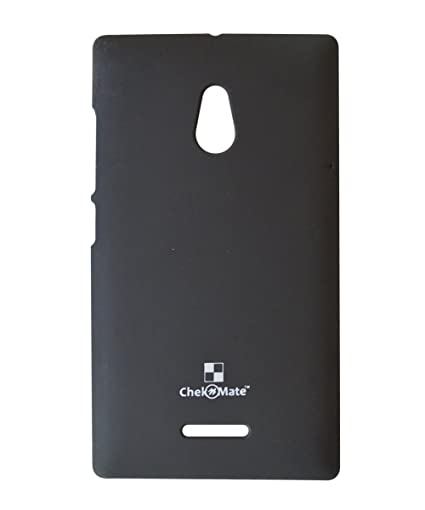 competitive price 18008 0cf9c COVERNEW Back Cover for Nokia X2 Dual SIM-Black: Amazon.in: Electronics
