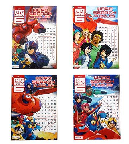 Disney Big Hero Puzzles 4 books