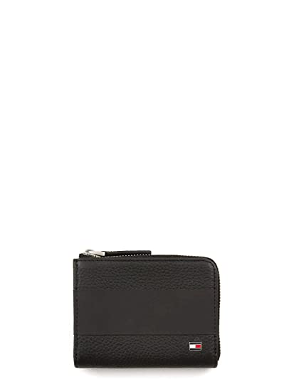 645b2aeb TOMMY HILFIGER Coin Wallet Black: Amazon.co.uk: Luggage