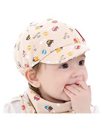 67a9a32bd18 Baby Kid Boy Girl Toddler Infant Hat❤ ❤ LILICAT Little Car Cartoon Printed  Beret Cap Cute Outdoor Sun Beach Cotton Hat for 0-3 Years Old Bucket Hats  ...