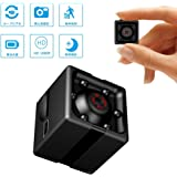 Supoggy 隠しカメラ 1080P高画質 超小型防犯カメラ 長時間録画可能 フルHD録画 小型カメラ 動体検知 暗視機能 録音 監視カメラ 充電式 充電しながら撮影可能 探偵 浮気調査 ミニ ドライブレコーダー