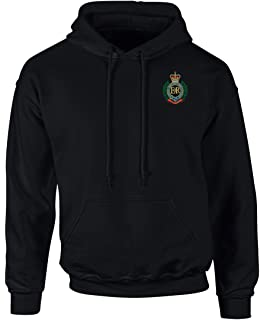 Royal Engineers Full Zip Fleece Embroidered Logo
