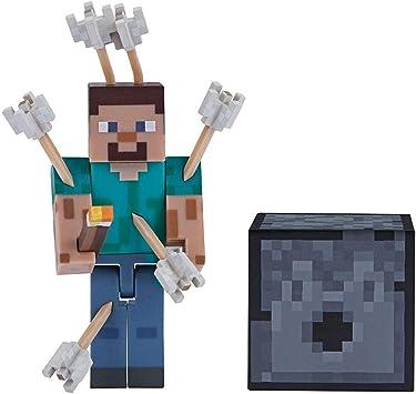 Minecraft 19971 - Figura de acción Coleccionable y Accesorios ...