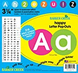 Barker Creek 3-1/4'' Poster Letters & Bulletin Board Letter Pop-Outs, Happy (LL-1721)