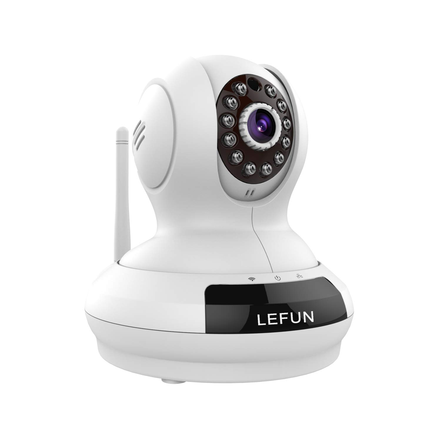 LeFun Wireless Camera, Baby Monitor WiFi IP Surveillance Camera HD 720P Nanny Cam Video Recording with Pan Tilt Remote…