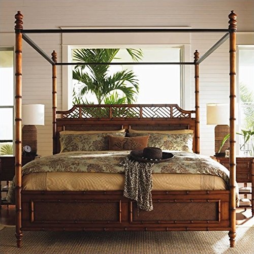 Tommy Bahama Home Island Estate West Indies Poster Canopy...