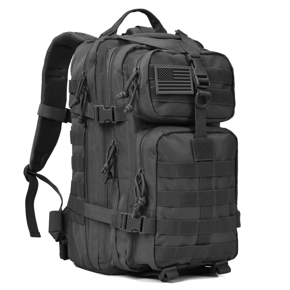 REEBOW GEAR Military Tactical Backpack 3 Day Assault Pack Army Molle Bag Backpacks Rucksack 35L