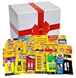 Super Glue 15036 Fix It All Gift Box with 24 Adhesives, Large